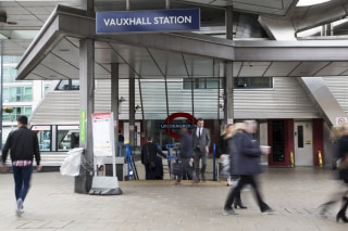 Image: Vauxhall station in London