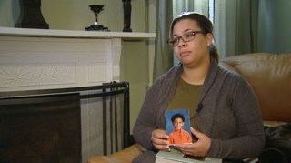 Image: Mother of 8-year-old who hanged himself speaks in an interview