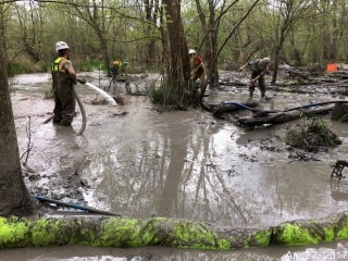 Image: Drilling Fluid Spill