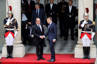 Image: Emmanuel Macron's Inauguration