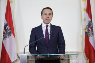 Image: Austrian Chancellor Christian Kern