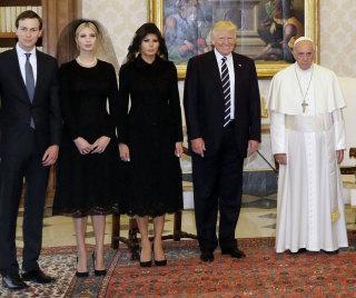 Image: US President Donald J. Trump visits the Vatican