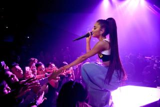 "Image: Ariana Grande performs in her ""Dangerous Woman"" Tour Opener"