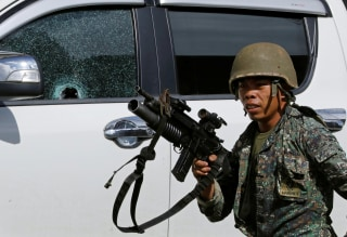 Image: Fighting in Marawi, Philippines