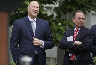 Image: Gary Cohn and Reince Priebus