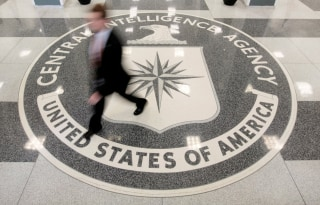 Image: The lobby of the CIA Headquarters Building in Langley, Virginia, on August 14, 2008.