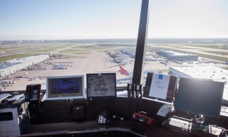 Image: Chicago's O'Hare Airport FAA Air Traffic Control Tower