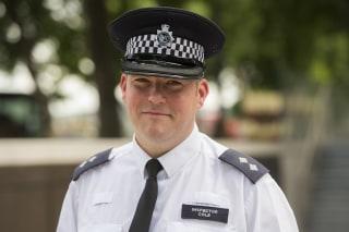 Image: Metropolitan Police Inspector Jim Cole