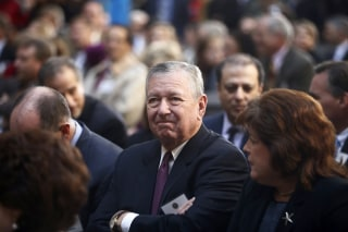 Image: Former U.S. Attorney General under President George W. Bush, John Ashcroft, attends the installation ceremony of James Comey as FBI director, in Washington, Oct. 28, 2013.