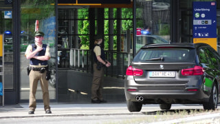 Image: Shooting scene in Munich, Germany