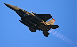 Image: U.S. Air Force F-15 fighter jet