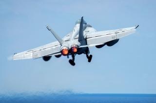 Image: F-18 Super Hornet aircraft