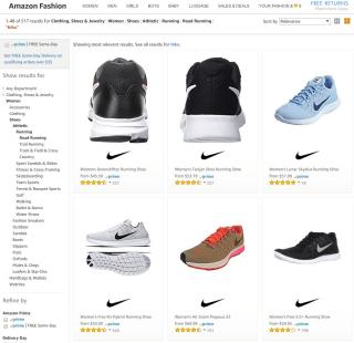 Nike on Amazon