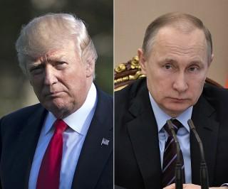 Image: Donald Trump and Vladimir Putin