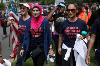 Image: Women's Groups Protest Outside NRA Headquarters