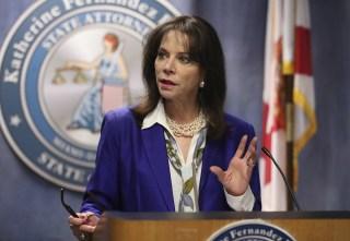Image: Miami-Dade State Attorney Katherine Fernandez Rundle