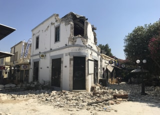 Image: Destruction on Kos
