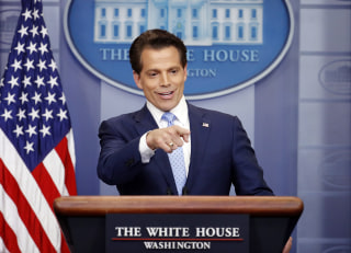 Image: New White House communications director Anthony Scaramucci