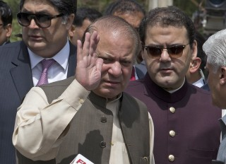 Image: Nawaz Sharif pictured in June.