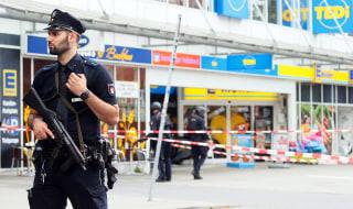 Image: Man attacks people in supermarket in Hamburg