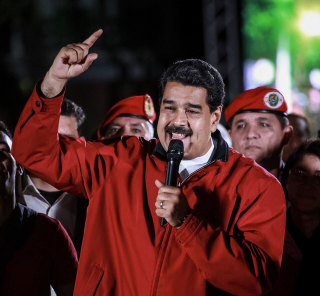 Image: Maduro celebrates Constituent Assembly election results