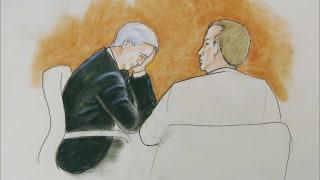 Image: David Mueller appears in court in Denver