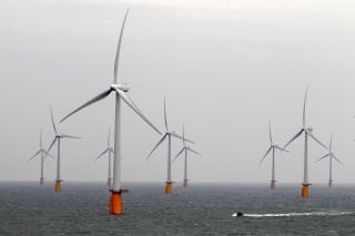 Image: Wind Farm off the Kent Coast in Southern England