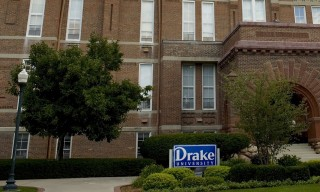 Image: The Drake University campus