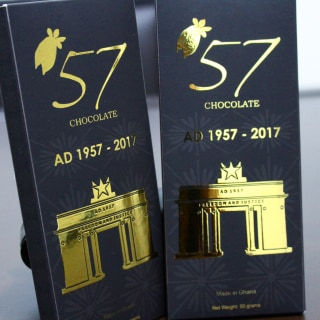 Image: 57 Chocolate Marking the Year of Ghana's Independence