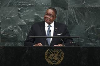 Image: Malawi's President Arthur Peter Mutharika