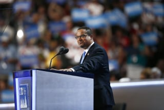 Image: Keith Ellison at the 2016 Democratic National Convention