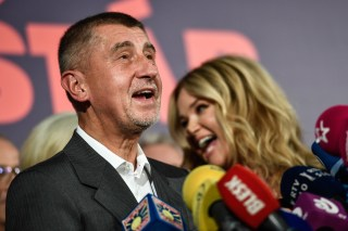 Image: Andrej Babis, leader of the ANO movement