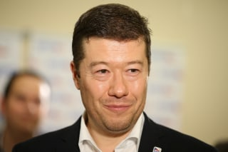 Image: Tomio Okamura, the leader of Freedom and Direct Democracy party