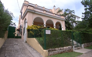 Image: A sickened U.S. diplomat lived in this Havana home
