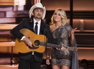Image: Brad Paisley, Carrie Underwood