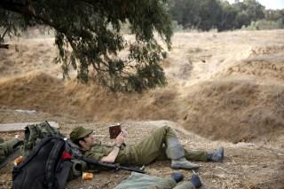 Image: Tension on the Gaza-Israel border