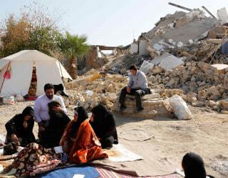 Solidarity, survival and sorrow mingle after Iran earthquake