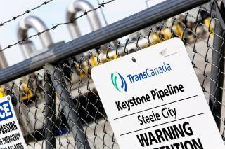 Image: A TransCanada Keystone Pipeline Pump Station Operates Outside Steele City, Nebraska