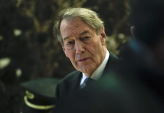 Image: TV News anchor Charlie Rose