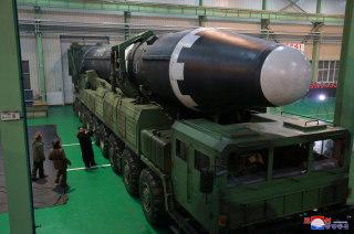 Image: Hwasong-15 and Kim Jong Un