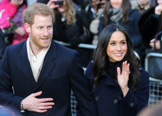 Image: Prince Harry and Meghan Markle first official royal engagement
