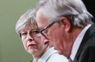 Image: May and Juncker