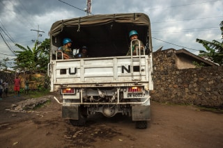 Image: U.N. peacekeepers in the Democratic Republic of Congo