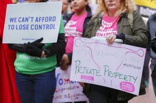 Image: Birth control Rally