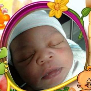 Image: 6-week-old Shamali Flores
