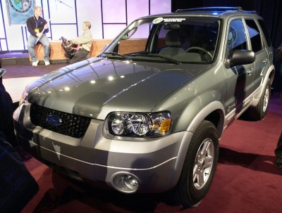 Ford announced it is recalling nearly 386,000 Escape Hybrids built in 2001-2004 to fix rusting frame parts. It is also recalling 49,000 Escapes, Fusions and other vehicles from the 2013 and 2014 model years to fix faulty seat welding.
