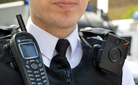 Image: Metropolitan Police Service launches large scale use of body cameras