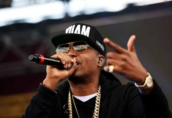 Image: Nas peforms on May 17 in Baltimore, Maryland
