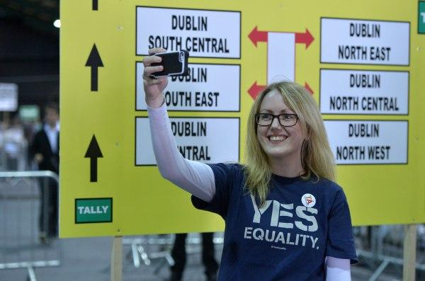 Image: Ireland Holds Referendum On Same Sex Marriage Law