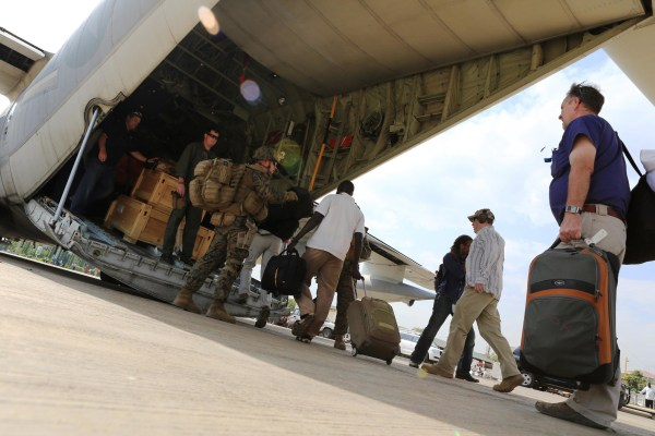 Image: SSUDAN-US-UNREST-EVACUATION